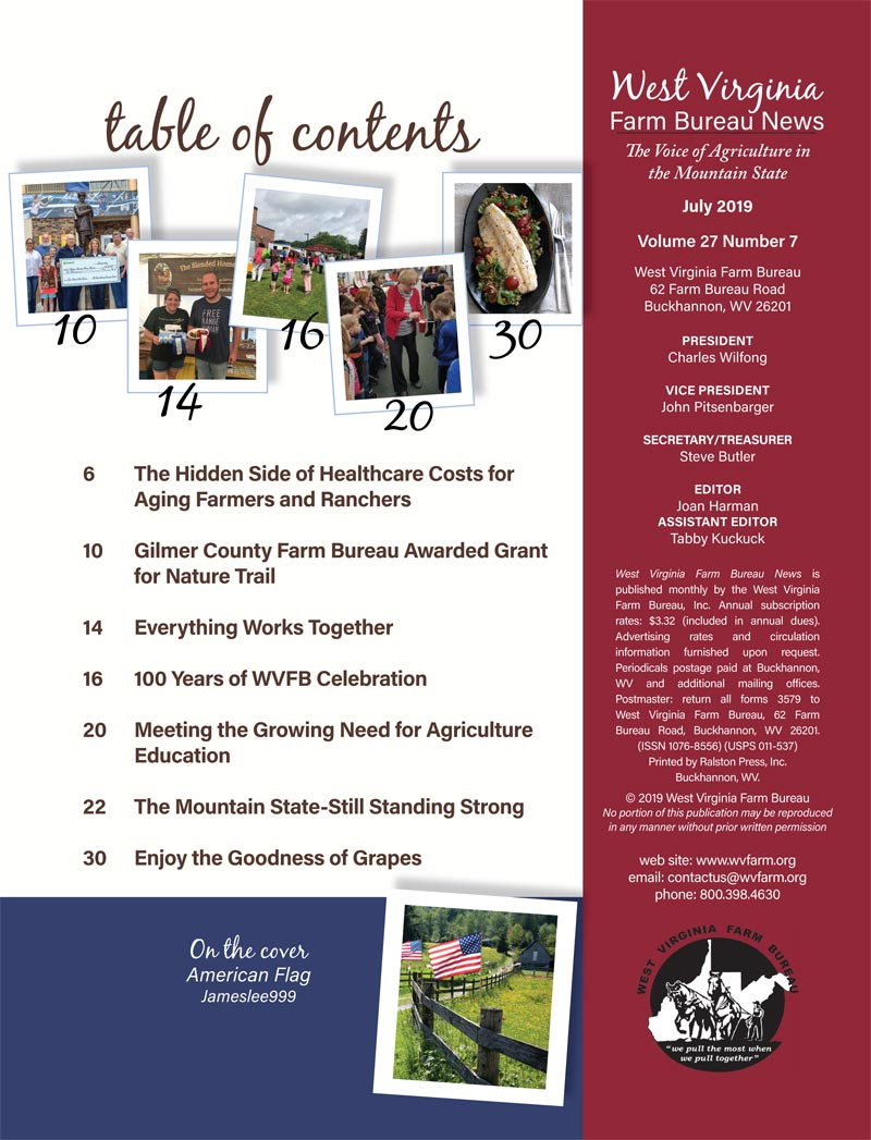 WVFB Magazine Jul 19 TOC